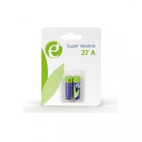 Батарейка A27 EnerGenie EG-BA-27A-01 лужні 27A (2 шт.), Блістер