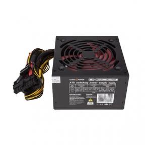 Блок живлення ATX-550W, 12см, 4xSATA, PCI Dх2 6PIN 24 pin power