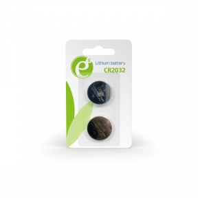 Батарейка CR2032 EnerGenie EG-BA-CR2032-01 (2 шт.), блистер