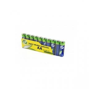 Батарейка LR6 лужна Energenie EG-BA-AASA-01, AA (10 шт.), Шрінк