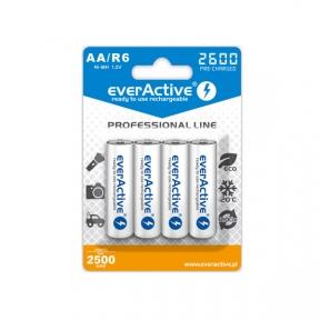 Акумулятор R6 everActive EVHRL6-2600, 2600mAh, LSD Ni-MH, блістер