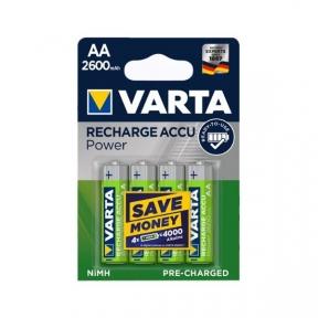 Акумулятор R6 Varta Pro R2U (5716), 2600mAh, LSD Ni-MH, блістер