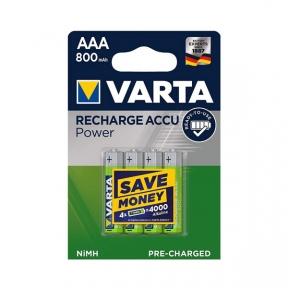 Акумулятор R3 Varta R2U (56703), 800mAh, LSD Ni-MH, блістер 4шт