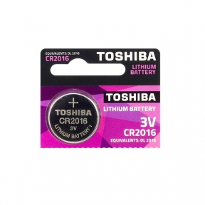 Батарейка CR2016 Toshiba, 3v