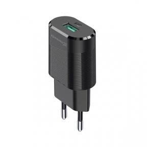 Зарядний пристрій USB 220В Grand-X 5V 2.1A (CH-17) із захистом