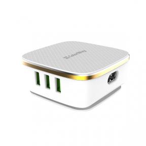 Зарядний пристрій USB 220В Colorway 6USB (1QC3.0 + 5 AUTO ID) 8A (