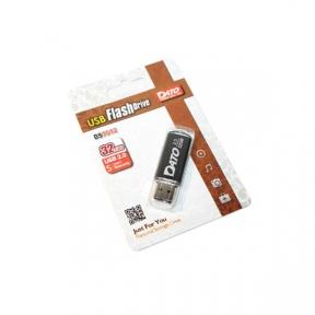 USB Flash Drive 32 Gb DATO DS7012 black (DT_DS7012BL/32Gb)