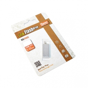USB Flash Drive 4 Gb DATO DS7002 silver (DT_DS7002S/4Gb)
