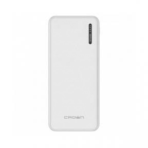 Зовнішній акумулятор (Power Bank) Crown CMPB-5000 White 5000 mAh