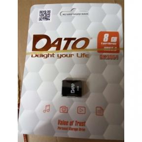 USB Flash Drive 32 Gb DATO DS3001 black (DK3001BL/32)