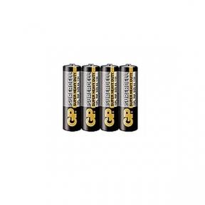 Батарейка R6 сольова GP, AA. 4шт, шринк
