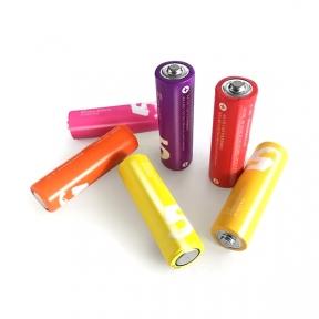 Батарейка LR6 лужна Xiaomi ZMI Rainbow Zi5, AA LR06 (1шт)