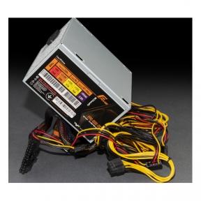 Блок живлення Frime FPO-600-12C, 600W, ATX, 12cm Fan. OEM. без каб
