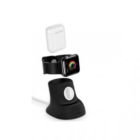 Автомобильный держатель Usams US-ZJ051 charging holder for Apple