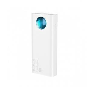 Зовнішній акумулятор (Power Bank) Baseus Amblight 30000mAh White (