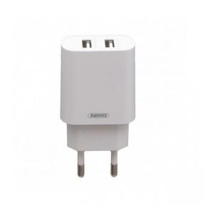 Зарядний пристрiй USB 220В  Remax RP-U35 (2USB 2.1A) c Lightning