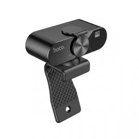 Веб-камера Hoco DL06 (2K) (Black) 4MP, 1.5M, 360С