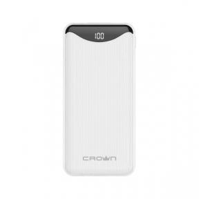 Зовнішній акумулятор (Power Bank) Crown CMPB-603 white 10000 mAh Quick Charge 3