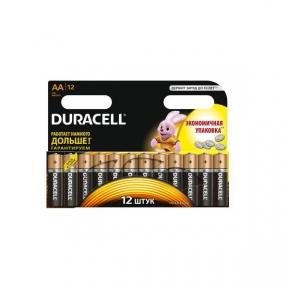 Батарейка R6 Duracell LR06 MN1500 уп. 1х12 шт