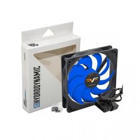 Вентилятор 120 mm Frime FBF120HB3, 3Pin+Molex 1300rpm HB Bearing Black