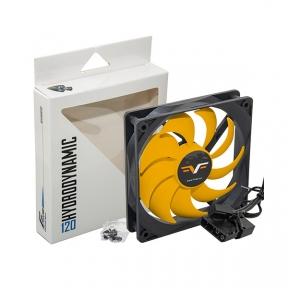 Вентилятор 120 mm Frime FYF120HB3, 3Pin+Molex 1300rpm HB Bearing Black