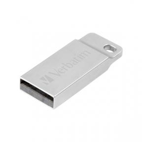 USB Flash Drive 64 Gb Verbatim Metal Executive Silver 98750