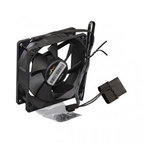 Вентилятор 80 mm Frime Bearing Black, 3pin+Molex 2000rpm, підшипник (