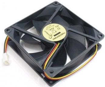 Вентилятор 90 mm Gembird FANCASE2 3-pin
