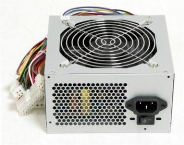 Блок живлення Logicpower ATX-450W, 12см, без кабелю живлення