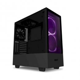 Корпус для ПК NZXT, H510 Elite Compact Mid Tower Matte Black Chassis