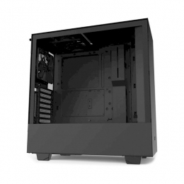 Корпус для ПК NZXT, H510i Compact Mid Tower Black/Black Chassis