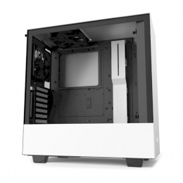 Корпус для ПК NZXT, H510i Compact Mid Tower White/Black Chassis