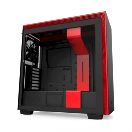Корпус для ПК NZXT, H710 Mid Tower Black/RedChassis