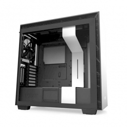 Корпус для ПК NZXT, H710i Mid Tower White/Black Chassis with Smart